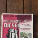 Libros de segunda mano: FUNCIONAMIENTO DEL MOTOR DIESEL ELADIO ARANDA HEREDIA. MINISTERIO AGRICULTURA . Lote 148918466