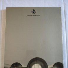 Libros de segunda mano: LIBRO RENFE MEMORIA CORPORATIVA 1975. Lote 148936810