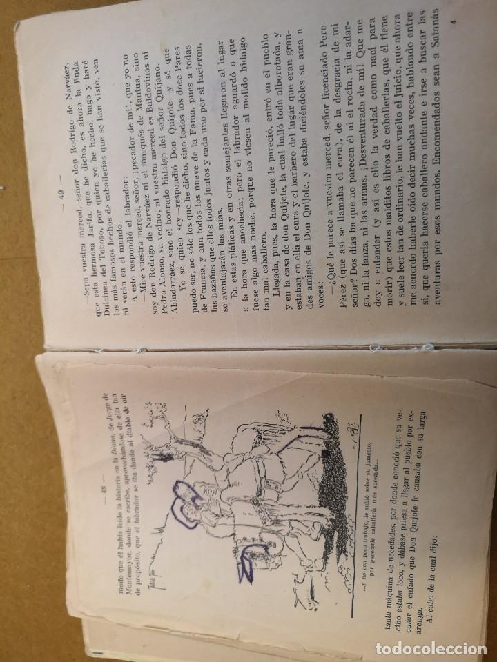 don quijote de la mancha primera edicion burgos - Comprar