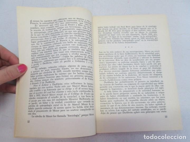 Libros de segunda mano: ELOGIO DE LA ANTROPOLOGIA. CLAUDE LEVI STRAUSS. EDICIONES CALDEN 1976 - Foto 6 - 149069610
