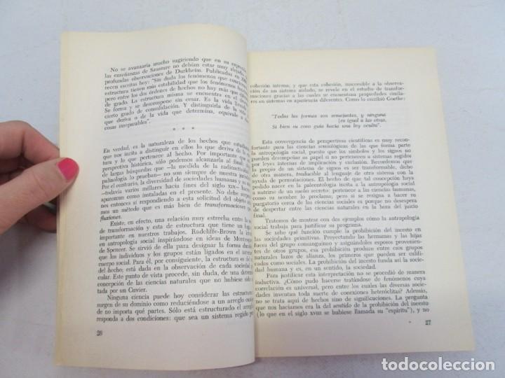 Libros de segunda mano: ELOGIO DE LA ANTROPOLOGIA. CLAUDE LEVI STRAUSS. EDICIONES CALDEN 1976 - Foto 7 - 149069610