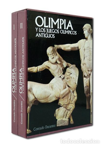 DURANTEZ (CONRADO).– OLIMPIA Y LOS JUEGOS OLÍMPICOS ANTIGUOS. 1975 [EN 2 TOMOS] (EXCELENTE ESTADO) (Libros de Segunda Mano - Historia - Otros)