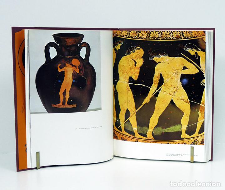 Libros de segunda mano: DURANTEZ (Conrado).– Olimpia y los Juegos Olímpicos antiguos. 1975 [EN 2 TOMOS] (EXCELENTE ESTADO) - Foto 3 - 149219128