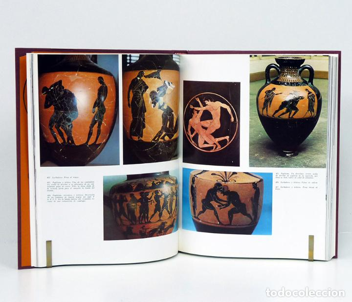 Libros de segunda mano: DURANTEZ (Conrado).– Olimpia y los Juegos Olímpicos antiguos. 1975 [EN 2 TOMOS] (EXCELENTE ESTADO) - Foto 4 - 149219128