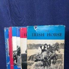 Libros de segunda mano: COLECCIÓN SEIS LIBROS CABALLO IRLANDÉS THE IRISH HORSE PURASANGRE CRIADOR DE CABALLOS MEDIADOS S XX. Lote 149324546