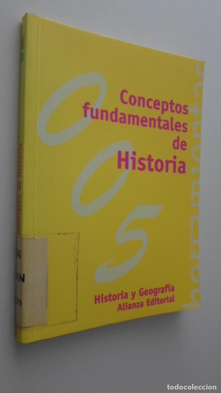 CONCEPTOS FUNDAMENTALES DE HISTORIA - SÁNCHEZ DE MADARIAGA, ELENA (Libros de Segunda Mano - Historia - Otros)