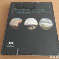 Livres d'occasion: LOS PAISAJES ANDALUCES. HITOS Y MIRADAS EN LOS SIGLOS XIX Y XX. NUEVO PRECINTADO. Lote 149466738