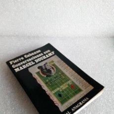 Libros de segunda mano: CONVERSACIONES CON MARCEL DUCHAMP - PIERRE CABANNE - ANAGRAMA 1984. Lote 149468246