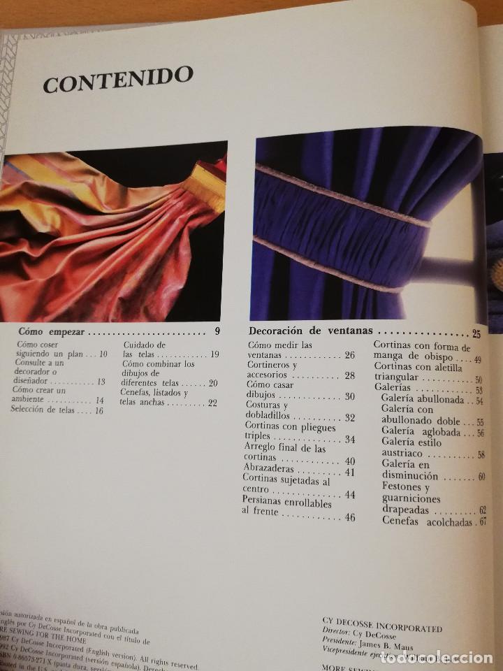 Libros de segunda mano: MÁS COSTURA PARA EL HOGAR (SINGER, BIBLIOTECA DE COSTURA) GRUPO NORIEGA EDITORES - Foto 3 - 149475350
