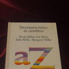 Libros de segunda mano: DICCIONARIO BÁSICO DE CIENTÍFICOS - DAVID MILLAR - TECNOS 1994. Lote 149496441