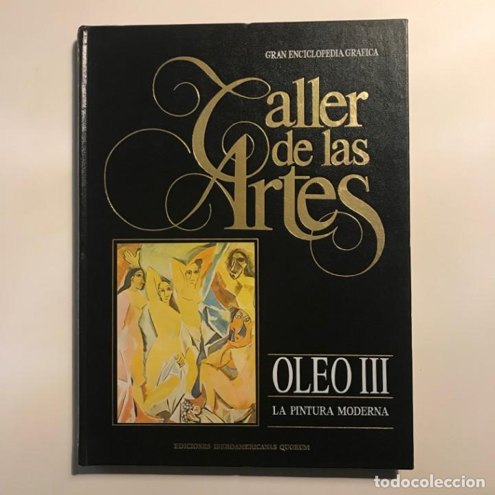1986 TALLER DE LAS ARTES OLEO III INICIACIÓN GRAN ENCICLOPEDIA GRÁFICA Nº 3 (Libros de Segunda Mano - Bellas artes, ocio y coleccionismo - Otros)
