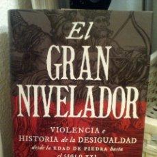Libros de segunda mano: EL GRAN NIVELADOR. VIOLENCIA E HISTORIA DE LA DESIGUALDAD. WALTER SCHEIDEL. Lote 149526934