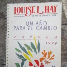 Libros de segunda mano: UN AÑO PARA EL CAMBIO , AGENDA 1994 , LOUISE L. HAY , UD.PUEDE SANAR SU VIDA. Lote 149543930