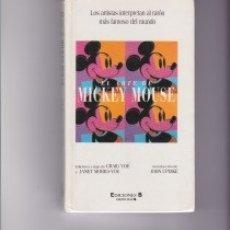 Libros de segunda mano: EL ARTE DE MICKEY MOUSE. PEDIDO MÍNIMO EN LIBROS: 4 TÍTULOS. Lote 148351098