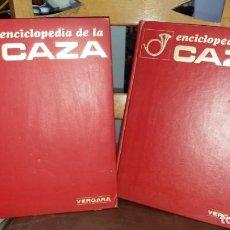 Libros de segunda mano: LIBROS ANTIGUOS ENCICLOPEDIA DE LA CAZA VERGARA AÑO 1969 Y 1973 . Lote 149621162
