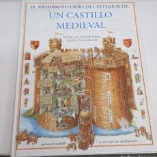 Libros de segunda mano: EL ASOMBROSO LIBRO DEL INTERIOR DE UN CASTILLO MEDIEVAL - ARM06. Lote 149750362