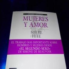 Libros de segunda mano: LIBRO-MUJERES Y HOMBRES-SHERE HITE-PLAZA & JANÉS-1988-VER FOTOS. Lote 149757434