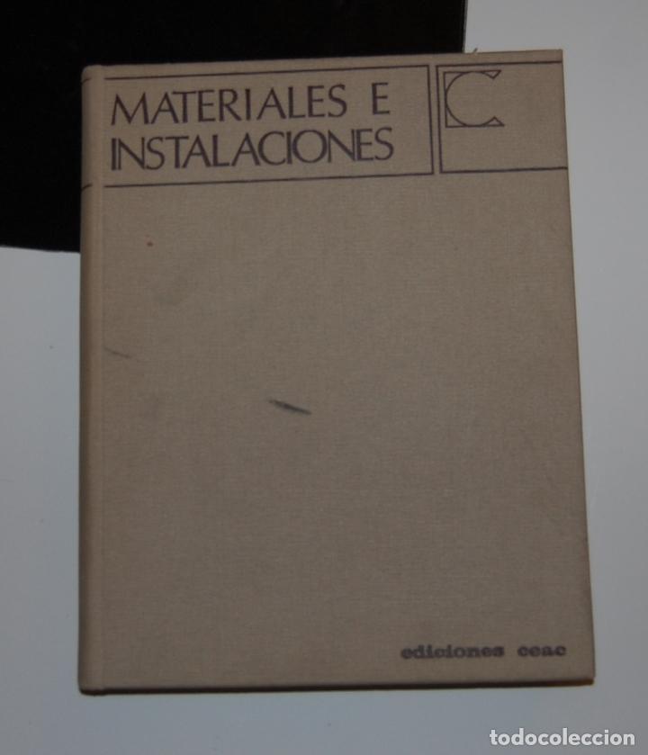 MATERIALES E INSTALACIONES, CEAC DECORACIÓN N. 4, 1968 (Libros de Segunda Mano - Bellas artes, ocio y coleccionismo - Otros)