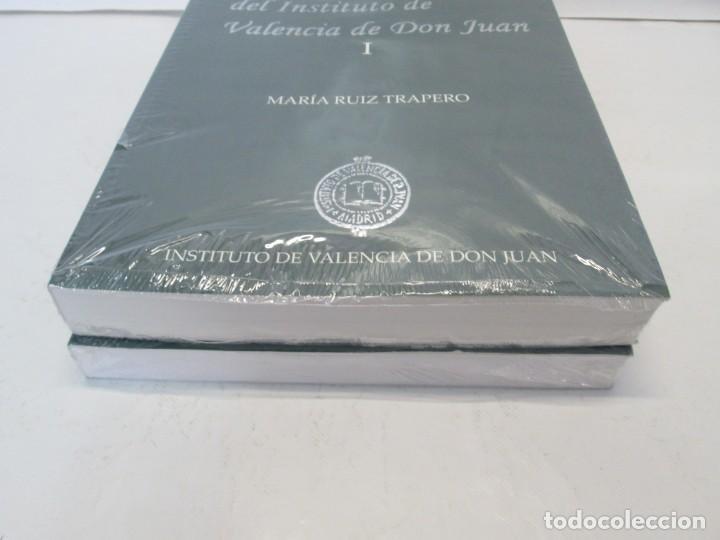 Libros de segunda mano: LAS MONEDAS HISPANICAS DEL INSTITUTO DE VALENCIA DE DON JUAN. I Y II. M. RUIZ TRAPERO. SIN DESPRECIN - Foto 3 - 149947882