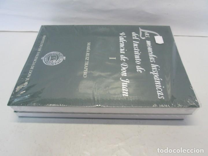 Libros de segunda mano: LAS MONEDAS HISPANICAS DEL INSTITUTO DE VALENCIA DE DON JUAN. I Y II. M. RUIZ TRAPERO. SIN DESPRECIN - Foto 4 - 149947882
