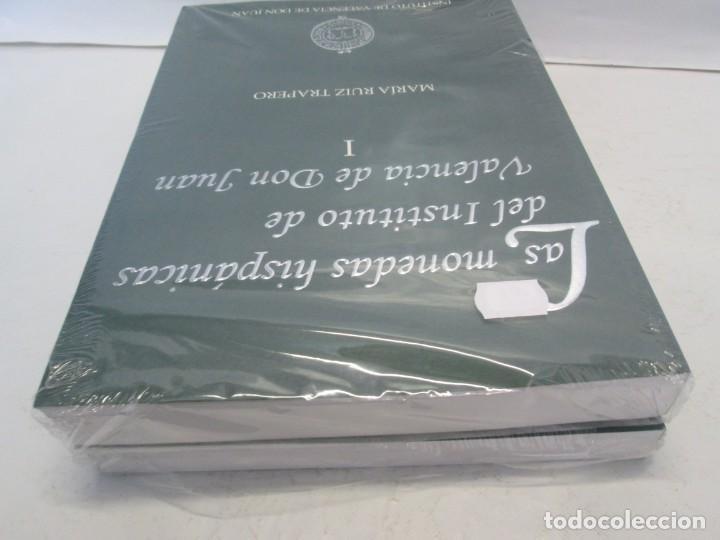 Libros de segunda mano: LAS MONEDAS HISPANICAS DEL INSTITUTO DE VALENCIA DE DON JUAN. I Y II. M. RUIZ TRAPERO. SIN DESPRECIN - Foto 5 - 149947882