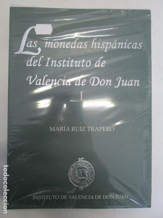 Libros de segunda mano: LAS MONEDAS HISPANICAS DEL INSTITUTO DE VALENCIA DE DON JUAN. I Y II. M. RUIZ TRAPERO. SIN DESPRECIN - Foto 6 - 149947882