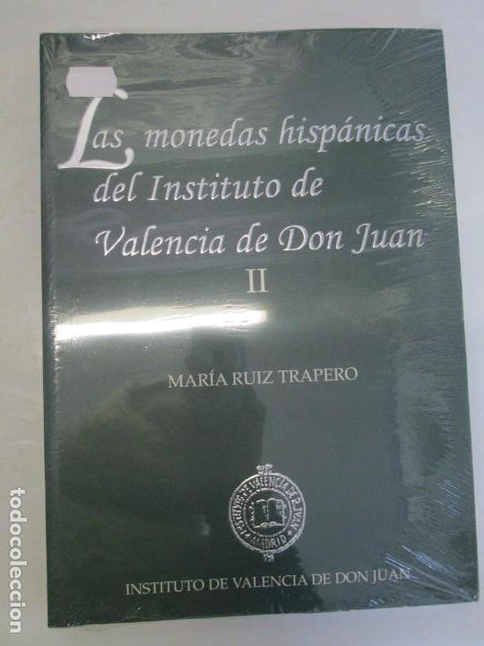 Libros de segunda mano: LAS MONEDAS HISPANICAS DEL INSTITUTO DE VALENCIA DE DON JUAN. I Y II. M. RUIZ TRAPERO. SIN DESPRECIN - Foto 8 - 149947882