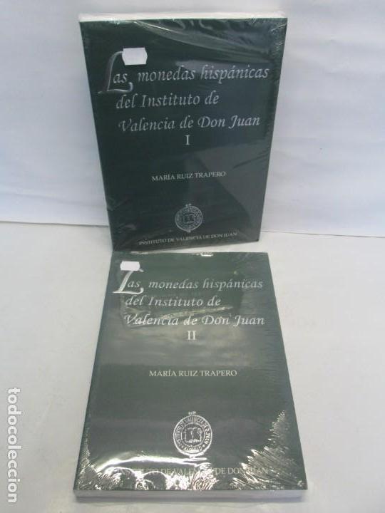 LAS MONEDAS HISPANICAS DEL INSTITUTO DE VALENCIA DE DON JUAN. I Y II. M. RUIZ TRAPERO. SIN DESPRECIN (Libros de Segunda Mano - Historia - Otros)