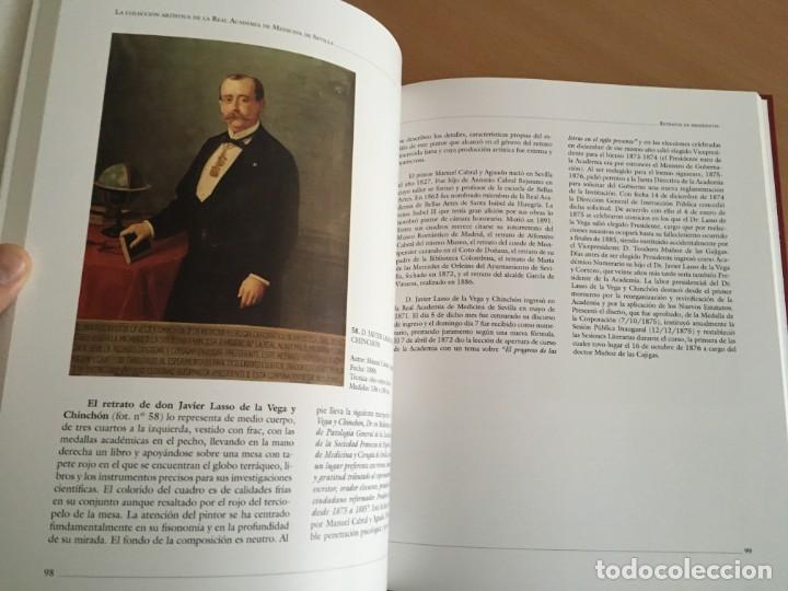 Libros de segunda mano: La colección artística de la Real Academia de Medicina de Sevilla La colección artística de la Real - Foto 8 - 150061634