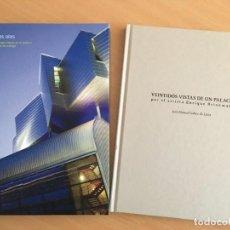 Libros de segunda mano: EL PEZ EN LAS OLAS SOBRE LA ARQUITECTURA DE ÁNGEL ASENJO Y VEINTIDÓS VISTAS DE UN PALACIO. Lote 150062050