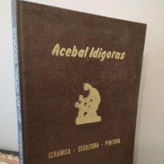 Libros de segunda mano: ACEBAL IDIGORAS - EDITORIAL LA GRAN ENCICLOPEDIA VASCA. Lote 150101134