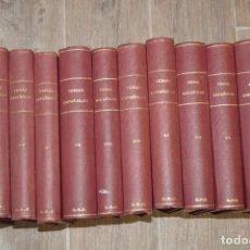 Libros de segunda mano: TEMAS ESPAÑOLES. 12 TOMOS.. Lote 150139246
