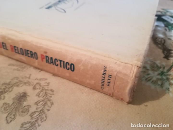 Libros de segunda mano: Manual del relojero práctico. Relojes eléctricos - Hans Berthoud - 1946 - Impreso en Argentina - Foto 4 - 150232874