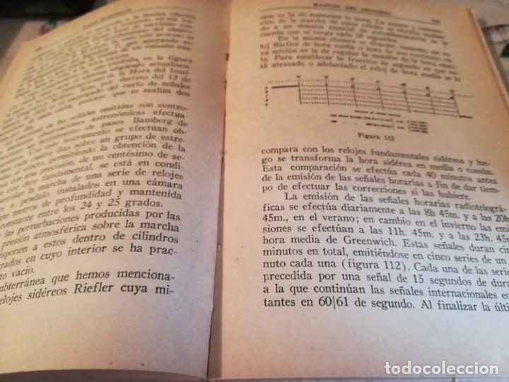 Libros de segunda mano: Manual del relojero práctico. Relojes eléctricos - Hans Berthoud - 1946 - Impreso en Argentina - Foto 19 - 150232874