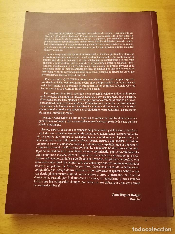 Libros de segunda mano: QUADERNA. CIENCIA Y PENSAMIENTO Nº 1 (FUNDACIÓ ANTONI MAURA) - Foto 4 - 150497442