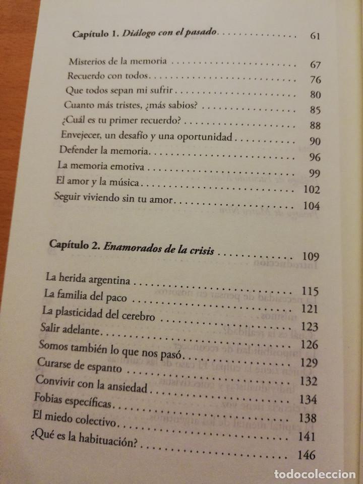 Libros de segunda mano: EL CEREBRO ARGENTINO. UNA MANERA DE PENSAR, DIALOGAR Y HACER UN PAÍS MEJOR (FACUNDO MANES / M. NIRO) - Foto 4 - 150497606