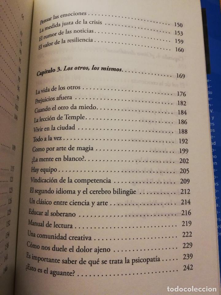 Libros de segunda mano: EL CEREBRO ARGENTINO. UNA MANERA DE PENSAR, DIALOGAR Y HACER UN PAÍS MEJOR (FACUNDO MANES / M. NIRO) - Foto 5 - 150497606
