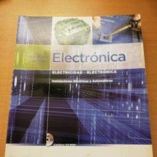 Libros de segunda mano - ELECTRÓNICA. INSTALACIONES ELÉCTRICAS Y AUTOMÁTICAS (PABLO ALCALDE SAN MIGUEL) INCLUYE CD - 150539718