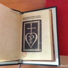 Libros de segunda mano: BIBLIOFILIA FACSÍMIL INTEGRO DEL GRAN Y PEQUEÑO TESTAMENTO DE FRANÇOIS VILLON + EL VILLON DE 1489. Lote 150540002