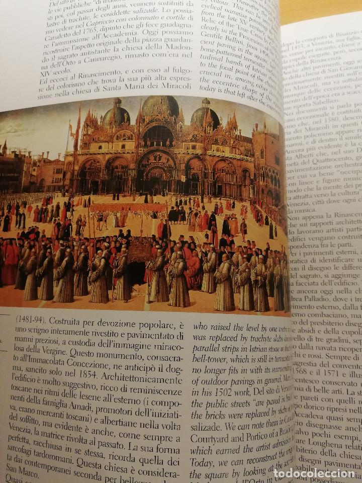 Libros de segunda mano: PAVIMENTI A VENEZIA / THE FLOORS OF VENICE (TUDY SAMMARTINI; PHOTOGRAPHS BY GABRIELE CROZZOLI) - Foto 9 - 150594014