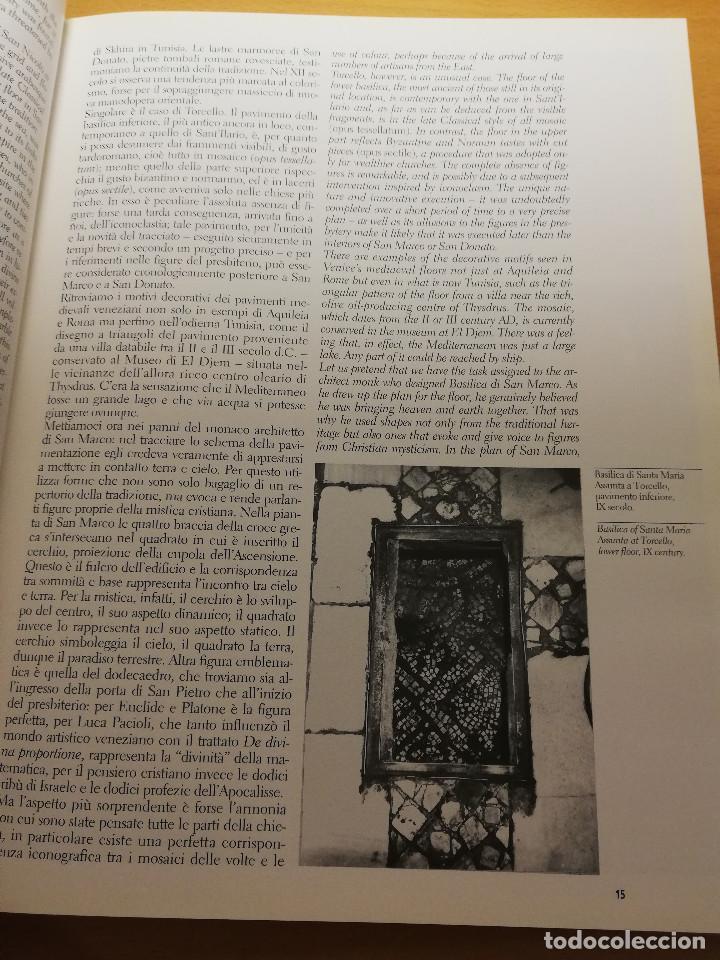Libros de segunda mano: PAVIMENTI A VENEZIA / THE FLOORS OF VENICE (TUDY SAMMARTINI; PHOTOGRAPHS BY GABRIELE CROZZOLI) - Foto 10 - 150594014
