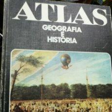 Libros de segunda mano: ATLAS GEOGRAFÍA E HISTORIA. EDICIONES SALMA. Lote 150597654