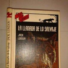Livros em segunda mão: LA LLAMADA DE LO SALVAJE 1985 JACK LONDON 1ª EDICIÓN ANAYA TUS LIBROS 54. Lote 150615846