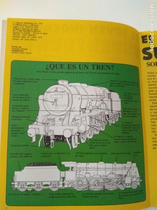 Second hand books: El joven ingeniero,supertrenes,1979, ediciones plesa - Foto 3 - 150646590