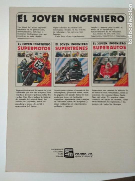 Second hand books: El joven ingeniero,supertrenes,1979, ediciones plesa - Foto 8 - 150646590