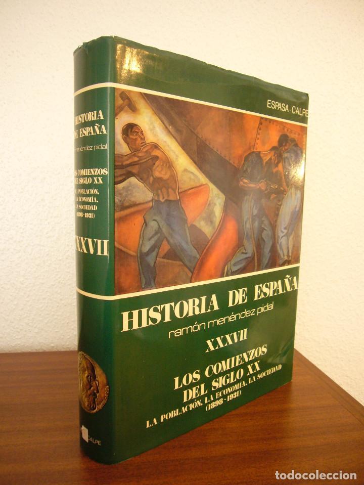 HISTORIA DE ESPAÑA VOL. XXXVII (ESPASA CALPE, 1984) RAMÓN MENÉNDEZ PIDAL (DIR.) (Libros de Segunda Mano - Historia - Otros)