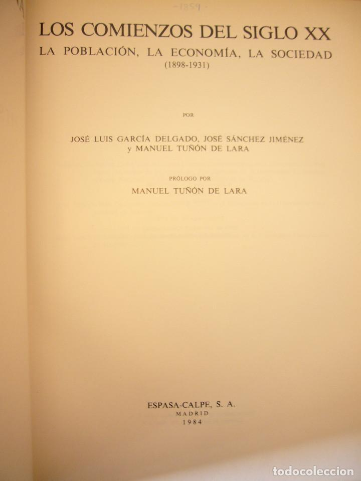 Libros de segunda mano: HISTORIA DE ESPAÑA VOL. XXXVII (ESPASA CALPE, 1984) RAMÓN MENÉNDEZ PIDAL (DIR.) - Foto 4 - 150652602