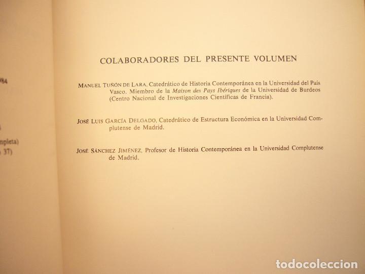 Libros de segunda mano: HISTORIA DE ESPAÑA VOL. XXXVII (ESPASA CALPE, 1984) RAMÓN MENÉNDEZ PIDAL (DIR.) - Foto 5 - 150652602