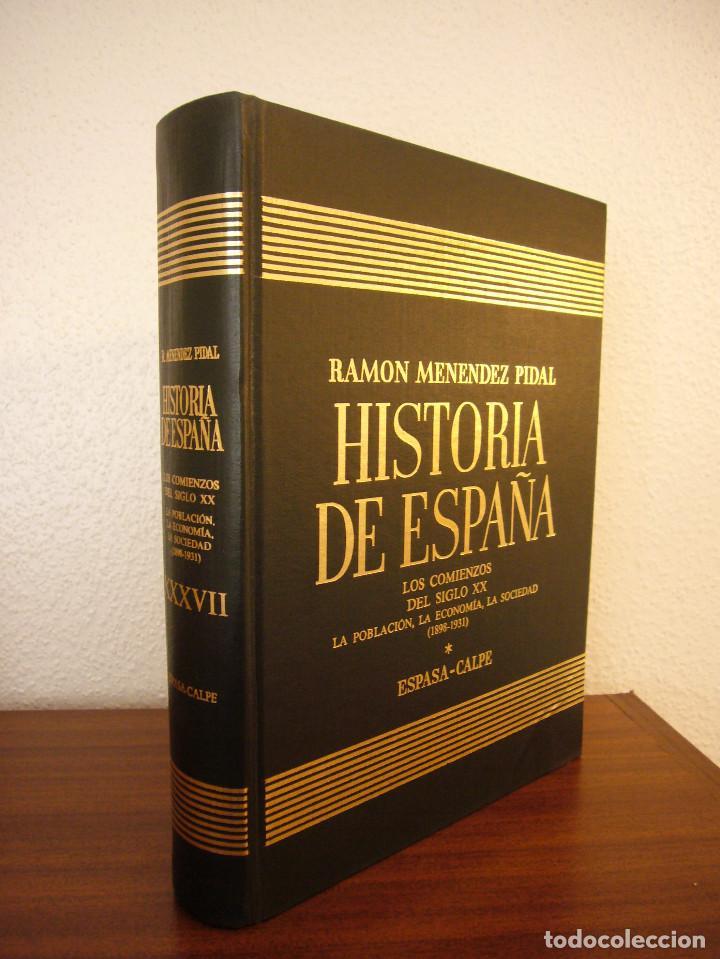 Libros de segunda mano: HISTORIA DE ESPAÑA VOL. XXXVII (ESPASA CALPE, 1984) RAMÓN MENÉNDEZ PIDAL (DIR.) - Foto 9 - 150652602