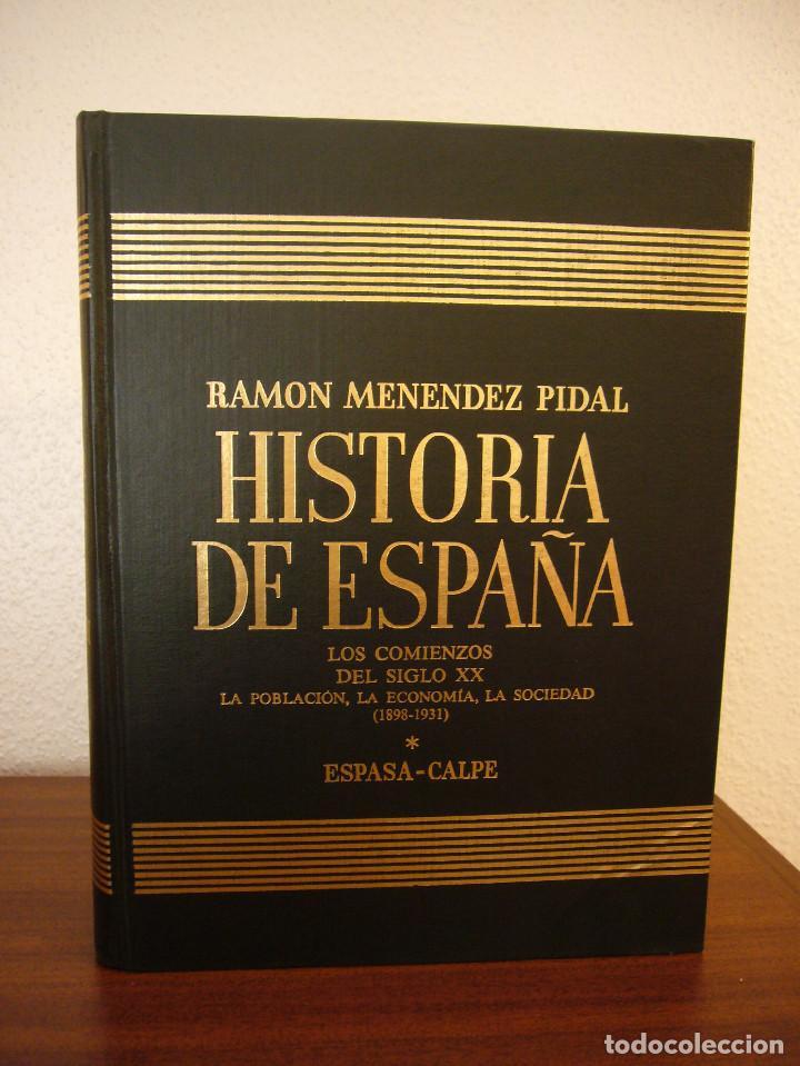 Libros de segunda mano: HISTORIA DE ESPAÑA VOL. XXXVII (ESPASA CALPE, 1984) RAMÓN MENÉNDEZ PIDAL (DIR.) - Foto 10 - 150652602